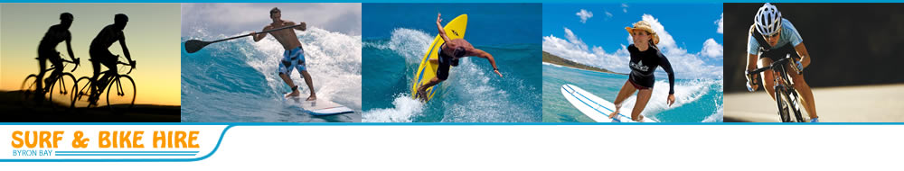Byron Bay Bike & Surfboard hire